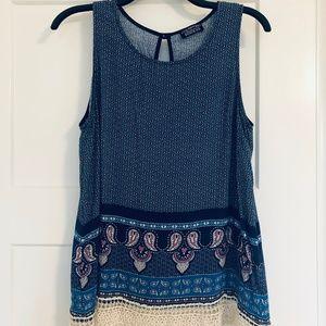 Papermoon Stitch Fix Boho Sleeveless Top, XL